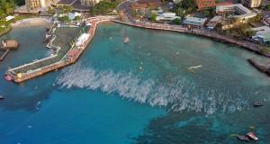 Start van de triathlon op Hawaii! Hier wil elke triathleet bijzijn