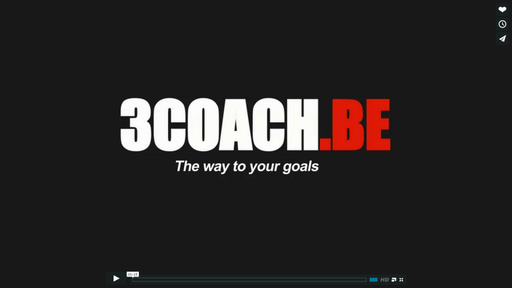 3COACH.BE the way to your goals